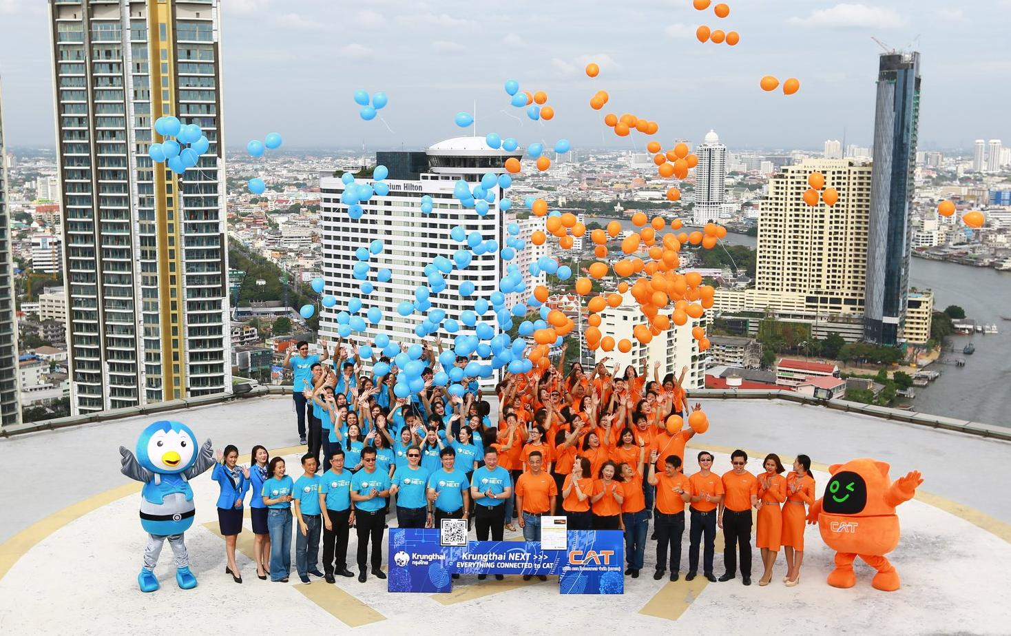 CATunited with Krungthai Bankprovide total financial solution